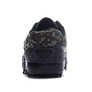 维致 解放鞋 男女军训登山户外透气劳保防刺穿耐磨帆布胶靴 WZ2001 数码迷彩 43