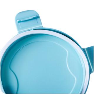洁比世 厨房透明食品保鲜密封罐储物罐带盖 600ML
