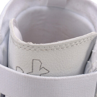 LI-NING 李宁 运动时尚系列 女 运动时尚鞋 AGWN016-2 标准白/银色 37