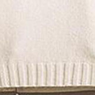 鳄鱼恤(CROCODILE)针织衫男 2018秋冬新款韩版潮流帅气毛衣宽松高领外套 Q4002-MY917 白色加绒 2XL