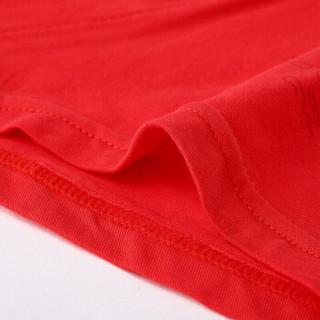 YUZHAOLIN 俞兆林 大红色棉质男士内裤本命年棉袜送礼套装 4条内裤+2双袜子 XL码 XL YT005E1