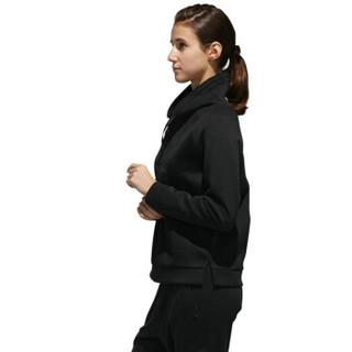 adidas 阿迪达斯 女子 型格系列 CREW MESH BOS 运动 套头衫 DT2366 黑色 M码