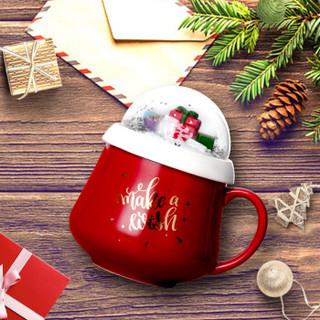COSTA 咖世家 陶瓷杯 420ml 红色