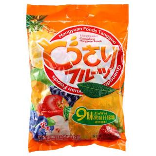 宏源 什锦糖 混合口味 888g 袋装