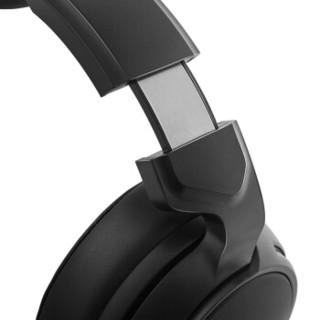 西伯利亚(XIBERIA)V20 电脑耳机 游戏耳机耳麦 吃鸡耳机 头戴式带麦有线 发光重低音7.1声道 黑色