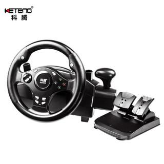 科腾 KETENG D3A 电脑赛车游戏方向盘7合一模拟驾驶PS4/XBOX one/PC欧卡2尘埃竞速飞车GTA5