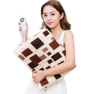 HANASS电热毯单人 电褥子安全调温型无纺布电毯子 150*70B