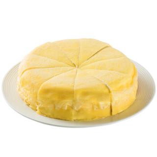 普利欧(perlo)榴莲千层  生日蛋糕 金枕头榴莲冷冻蛋糕甜点下午茶  800g 10片 8寸