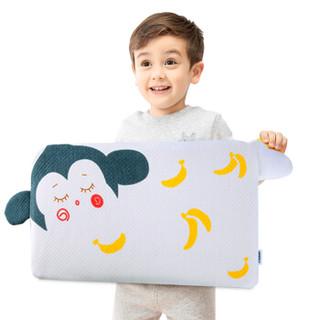 睡眠博士(AiSleep) 儿童枕头 婴儿乳胶枕 宝宝枕头  90%乳胶 可调节双层使用 京东自营 2-8岁 猴宝宝