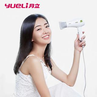月立(yueli) 电吹风机 1200W家用迷你吹风 可折叠便携式旅行大功率吹风筒 学生宿舍用吹风机 HD-066WTF
