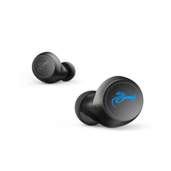 HiVi 惠威 AW-73 真无线蓝牙耳机左右可独立使用 苹果安卓手机通用 黑色