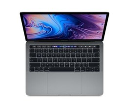 Apple 苹果 2019新款 MacBook Pro 13.3英寸笔记本电脑(i5、8GB、512GB、Touch Bar)