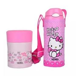 HERMOS 膳魔师 hello kitty 保温杯+焖烧杯 2件套装 400ml+300ml 粉色 +凑单品