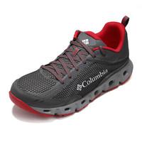 Columbia 哥伦比亚 溯溪鞋 户外男款轻盈缓震涉水鞋 DM2073 023 黑红色(男) 43.5