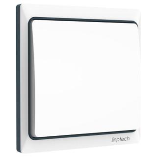 领普科技(linptech)智能无线遥控开关 自发电无源无线开关插座遥控器 K4S单开开关面板