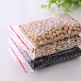 雯萱 密封袋加厚透明自封袋pe塑料袋食品打包密封袋23*33 100只