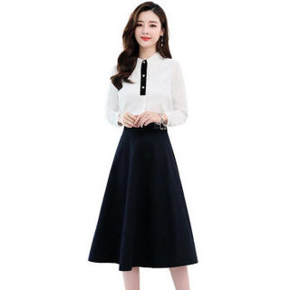 liqiao 丽乔  春季新款连衣裙女中长款百搭个性舒适A字裙舒适时尚中长款 cchnzMLJL1918 粉色 M