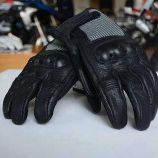 宝马BMW原厂 Airflow气流 夏季透气骑行手套 透气拉力越手套 黑色7