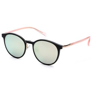 LOHO 偏光太阳镜夹片带磁铁吸附式近视眼镜框架男女款 LHK020 粉色+炫彩夹片