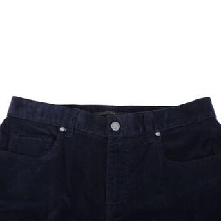 Z ZEGNA 杰尼亚 奢侈品 男士海军蓝棉质休闲长裤 VR765 ZZ505 B09 29码