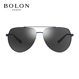 暴龙BOLON太阳镜男款19年新款经典时尚太阳眼镜飞行员框墨镜BL7065D70