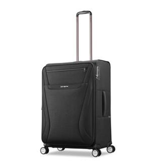Samsonite 新秀丽 拉杆箱 行李箱男女万向轮旅行箱登机箱 TR7*09001 黑色 20英寸