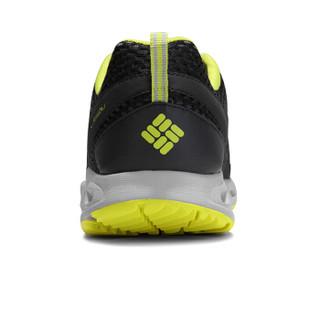 Columbia 哥伦比亚 溯溪鞋 户外春夏男士抓地缓震透气涉水鞋徒步鞋 YM2046 326 黑绿色(男) 41.5