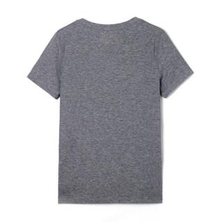 Gap旗舰店 女装 孕妇装GapFit系列 透气V领基本款运动T恤213550 石楠灰 165/84A(XS)