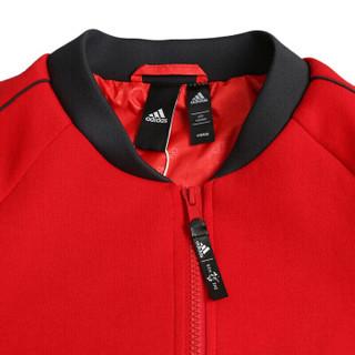 adidas 阿迪达斯 女子训练系列 CNY JKT KN BOMB 运动 夹克 EA2094 红色 S码