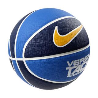 NIKE耐克花瓣篮球街球炫彩PU皮防滑耐磨7号标准蓝球2019年蓝色N000116446007