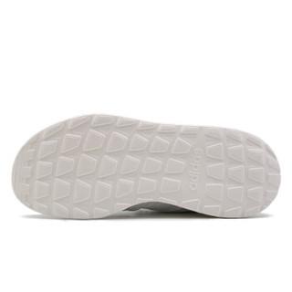 adidas 阿迪达斯 NEO 男子 运动休闲系列 QUESTAR FLOW 运动 休闲鞋 乳白色 F36256 44.5码 UK10码
