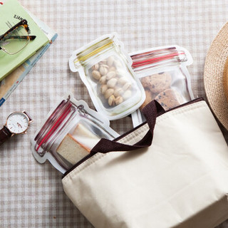 雅高 食品密封袋 家用加厚密封收纳袋食品袋 3个装