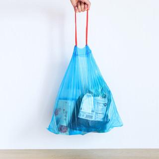 雅高 收口式垃圾袋 家庭用抽绳自动束口垃圾袋45*50cm 3卷装