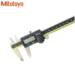 三丰电子数字数显游标卡尺0-150/200/300/450/600/1000 日本Mitutoyo原装进口 不带数据接口 0-150_0.01mm
