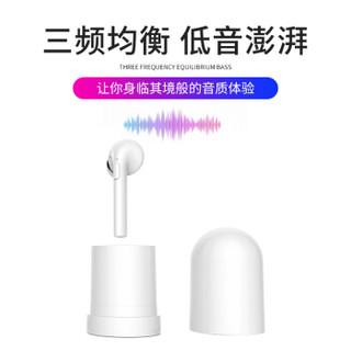 致奥(TOAIR)车载蓝牙耳机 迷你无线智能防水 入耳式 带充电仓 适安卓苹果手机通用 H6