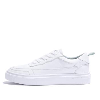 Semir 森马 休闲百搭低帮时尚潮流系带校园青春学生白色板鞋女 129116701 白蓝色 39码