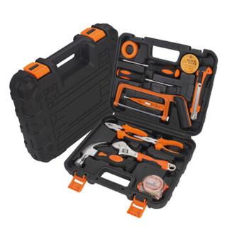 鑫瑞 SRUNV 家用手动工具套装五金电工维修多功能工具箱 家用套装尖嘴钳款 A5-10013