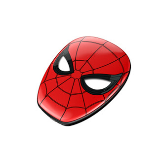 x-doria 复仇者联盟4 Marvel漫威移动电源7500毫安超薄快充 大容量便携式手机通用充电宝 炫然蜘蛛侠