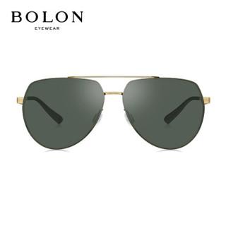 暴龙BOLON太阳镜男款19年新款经典时尚太阳眼镜飞行员框墨镜BL7065C60