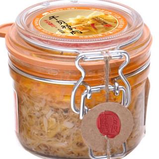 丰收蟹庄 干贝蟹肉大闸蟹蟹肉 125g 海鲜罐头 海鲜水产