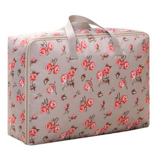 晨色 棉被收纳袋 防水牛津布搬家被子衣物整理袋打包袋 月季花色105L SC5002