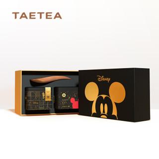 大益(TAETEA)普洱茶熟茶散茶 大益茶庭米奇90周年普洱茶 礼盒