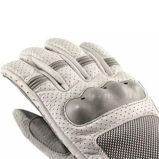 宝马BMW原厂 Airflow气流 夏季透气骑行手套 透气拉力越手套 灰色8