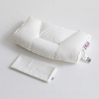 FOSSFLAKES 按摩枕(含套) 进口五星级酒店枕头单人颈椎按摩枕护颈护颈枕枕芯 含枕套 34*60cm