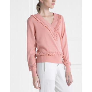 BARRIE女士Timeless-Romantic系列长袖套衫 粉色 国际通用码