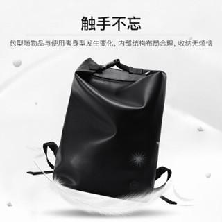 POLO 双肩包男士时尚休闲背包潮流旅行大容量电脑包14英寸ZY091P121J 黑色