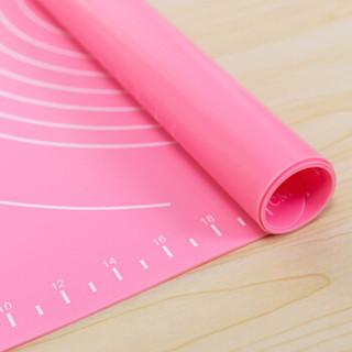 尚烤佳 硅胶垫 不粘面板 揉面垫 饺子面粉垫 食品级耐高温硅胶案板 烘焙工具