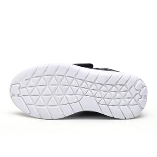 HelloKitty 女童运动鞋 休闲时尚透气网面跑步鞋K8513803黑色35
