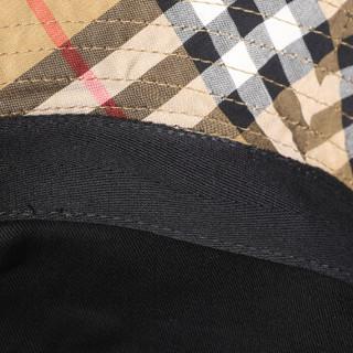 BURBERRY 巴宝莉 中性款古典黄色棉质帽子 80063671 M