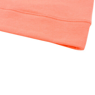 Gap旗舰店 Fit系列女童 套头针织运动卫衣262174 珊瑚色 XS